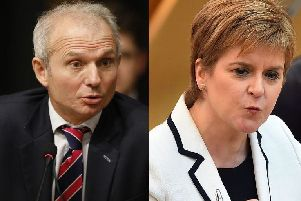 David Lidington said Theresa May would not acquiesce with Sturgeon's plan.