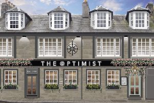 A digitally generated image of The Optimist in Inverness - known as Blackfriars before its forthcoming revamp. Picture: contributed.