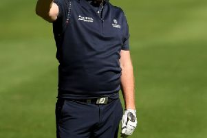 Buoyed by his recent win in the Hero Indian Open, Stephen Gallacher spearheads a nine-strong Scottish contingent in the Trophee Hassan II. Picture: Getty Images
