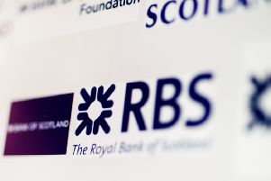 The results come a day after RBS bosses warned over a Brexit-related hit as uncertainty weighs on the economy. Picture: John Devlin