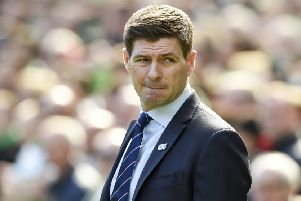 Out of patience: Steven Gerrard could empty three first-team players in the summer. Picture: PA