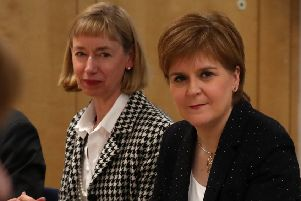 First Minister Nicola Sturgeon Picture: Andrew Milligan/PA Wire