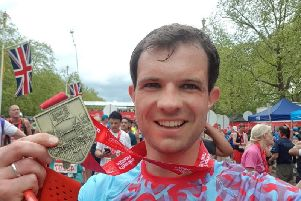 Scottish Tory Andrew Bowie was the fastest MP in Sunday's London Marathon