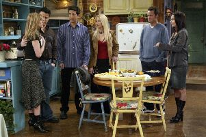 The TV show Friends is to be given the musical treatment (Picture: Danny Feld/Warner Bros/AP)