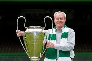 Stevie Chalmers. Picture: SNS