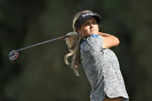 Scotland's Carly Booth will be among the 56 professionals competing in the new Omega Dubai Moonlight Classic. Picture: David Cannon/Getty Images