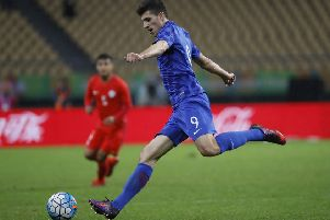 Mirko Maric's 15 goals so far this season have helped NK Osijek climb to third place in the Croatian league. Picture: Getty.