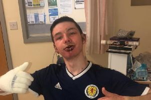 Man who became 'human fireball' thanks Scots ambulance crew
