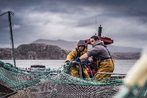Scottish Salmon Company has seen a 23 per cent jump in sales compared to the first quarter of 2018. Picture: Contributed
