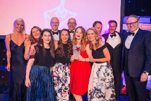 Republic of Media celebrate with their award for Star Agency of The Year 2018