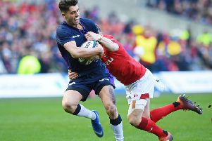 Adam Hastings believes that, despite finishing fifth in the six Nations, there were plenty of positives for Scotland to take from the tournament. Picture: SNS/SRU.