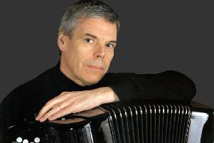 Accordian soloist Owen Murray