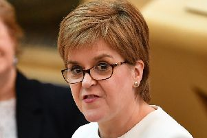Nicola Sturgeon spoke of a fracking ban in 2017. (Photo by Jeff J Mitchell/Getty Images)