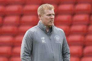 Celtic manager Neil Lennon was disappointed that Derek McInnes wasn't in the oppositon dugout. Pic: SNS/Paul Devlin