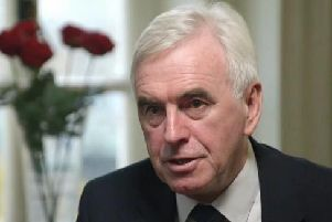 Labour Shadow Chancellor John McDonnell