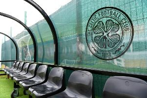 A general view of Lennoxtown, Celtic's training base. Picture: SNS Group