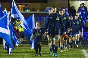 Connor Boyle will lead Scotland's Under-20 side out at Rosario in June. Picture: Bruce White: SNS/SRU
