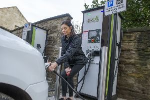 Demand for alternatively fuelled vehicles, such as hybrids and pure electrics, jumped 12.7 per cent to take a market share of 6.4 per cent. Picture: Ian Rutherford