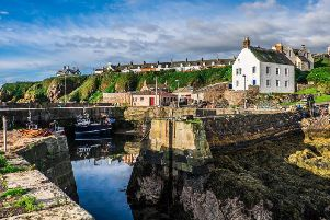 The pretty coastal town of St Abbs is home to just 100 residents. (Picture: Shutterstock)
