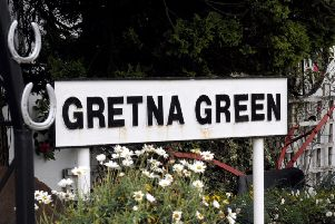 Gretna Green teamed up with Chinese partner Unineed Group to launch the dedicated website. Picture: Jane Barlow.