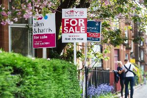 Fewer homes on the market due to Brexit fears means Scottish  sale prices are increasing. Picture: John Devlin