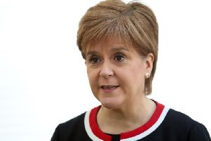 The First Minister has thrown doubt over her government's support for a third runway at Heathrow.