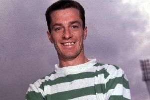Stevie Chalmers' 1965/1965 Celtic portrait (Picture: SNS)