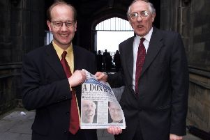 Edinburgh has done fantastically well since this picture of the two Donalds - Anderson and Dewar - was taken 20 years ago