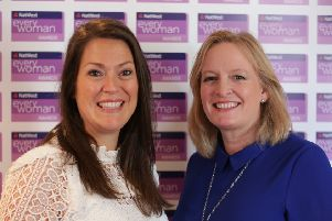 Amy Livingstone (left) and Julie Wilson, co-founders of Cheeky Chompers. Picture: Contributed
