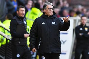 Ayr United manager Ian McCall strongly disagrees with the current format of the play-offs. Picture: SNS.
