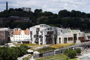 The Scottish Parliament, now at Holyrood, is celebrating its 20th anniversary (Picture: Jane Barlow)