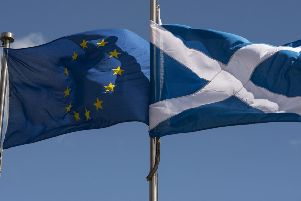 Holyrood and Westminster have clashed over the issue of powers returning from Brussels following Brexit. Picture: AFP/Getty