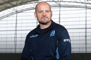 Scotland head coach Gregor Townsend. Pic: SNS/Gary Hutchsion
