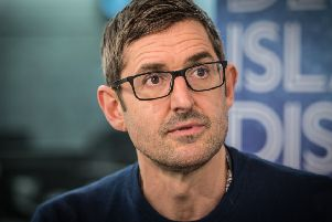 Louis Theroux appearing on Desert Island Discs. Picture: Amanda Benson/BBC Radio 4/PA Wire