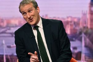 A wooden performance by Education Secretary Damian Hinds on The Andrew Marr show only increased doubts about his government's strategy. Picture: BBC via Getty Images