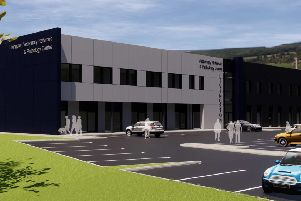 A computer generated image of CVS Group's new veterinary hospital in Livingston, which has the potential to create 110 jobs. Picture: Contributed