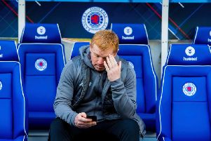 Neil Lennon's chances of being appointed Celtic manager permanently have been dented. Picture: SNS