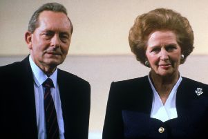 Broadcaster and former Labour MP Brian Walden with then prime minister Margaret Thatcher in 1989. Picture: PA