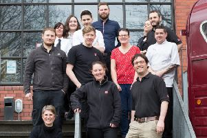The West brewery team with founder Petra Wetzel (bottom left). Picture: Contributed