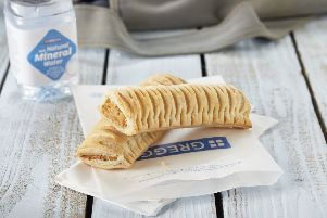The new vegan product is now available across nearly 2,000 stores. Picture: Greggs