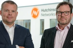 Chief executive Paul Hutchinson (left) and chief operating officer Stephen Heslop. Picture: Iain Robinson.