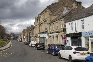 Bank Street in Galashiels.