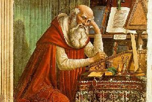 St Jerome in His Study, painted by Domenico Ghirlandaio in 1480, shows signs of global trade (Picture: Public domain via Wikipedia)