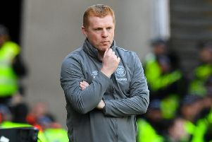 Celtic manager Neil Lennon - could the interim boss be looking at potential signings for next term? Picture: SNS Group
