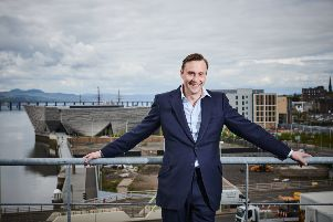 Jeremy Dixon, MD of Dundee One owner Jute Properties, is developing Jute & Co. Picture: Contributed