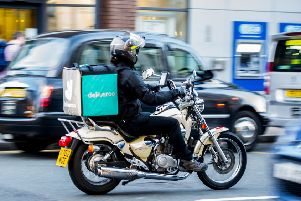 The investment will raise fresh speculation that Deliveroo is eyeing a public offering or sale to a larger company. Picture: John Devlin
