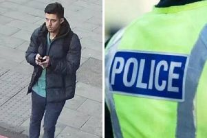 Police have released CCTV images of a man they want to speak to as part of their inquiries. Pic: Police Scotland