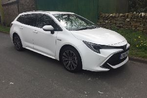 The Toyota Corolla Hybrid Touring Sports