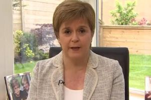 Nicola Sturgeon was speaking on the BBC's Andrew Marr Show