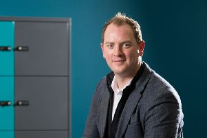 Ian Kerr, the founder and MD of security software firm Raven Controls, has big plans to transform event safety.''Picture: Robert Perry.